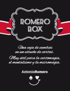 ROMERO BOX (ROJA) + LIBRO -...