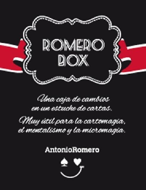 ROMERO BOX (ROJA) + LIBRO - Antonio...