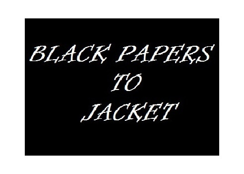 BLACK PAPER TO JACKET