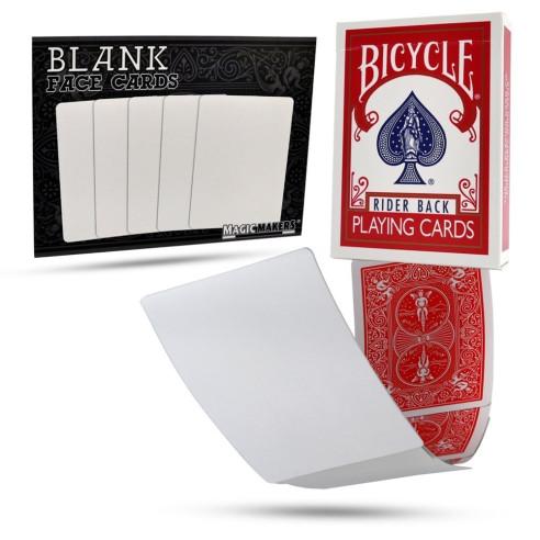 BARAJA BICYCLE BLANCA/ROJA