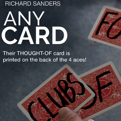 Any Card (Gimmick and Online...