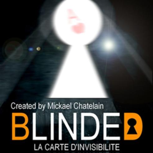 BLINDED (rojo) - MICKAEL CHATELAIN